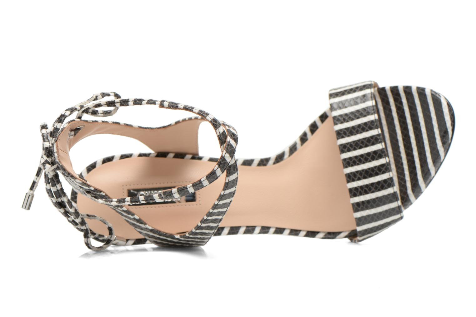 Sandals Guess Alisse Multicolor view from the left