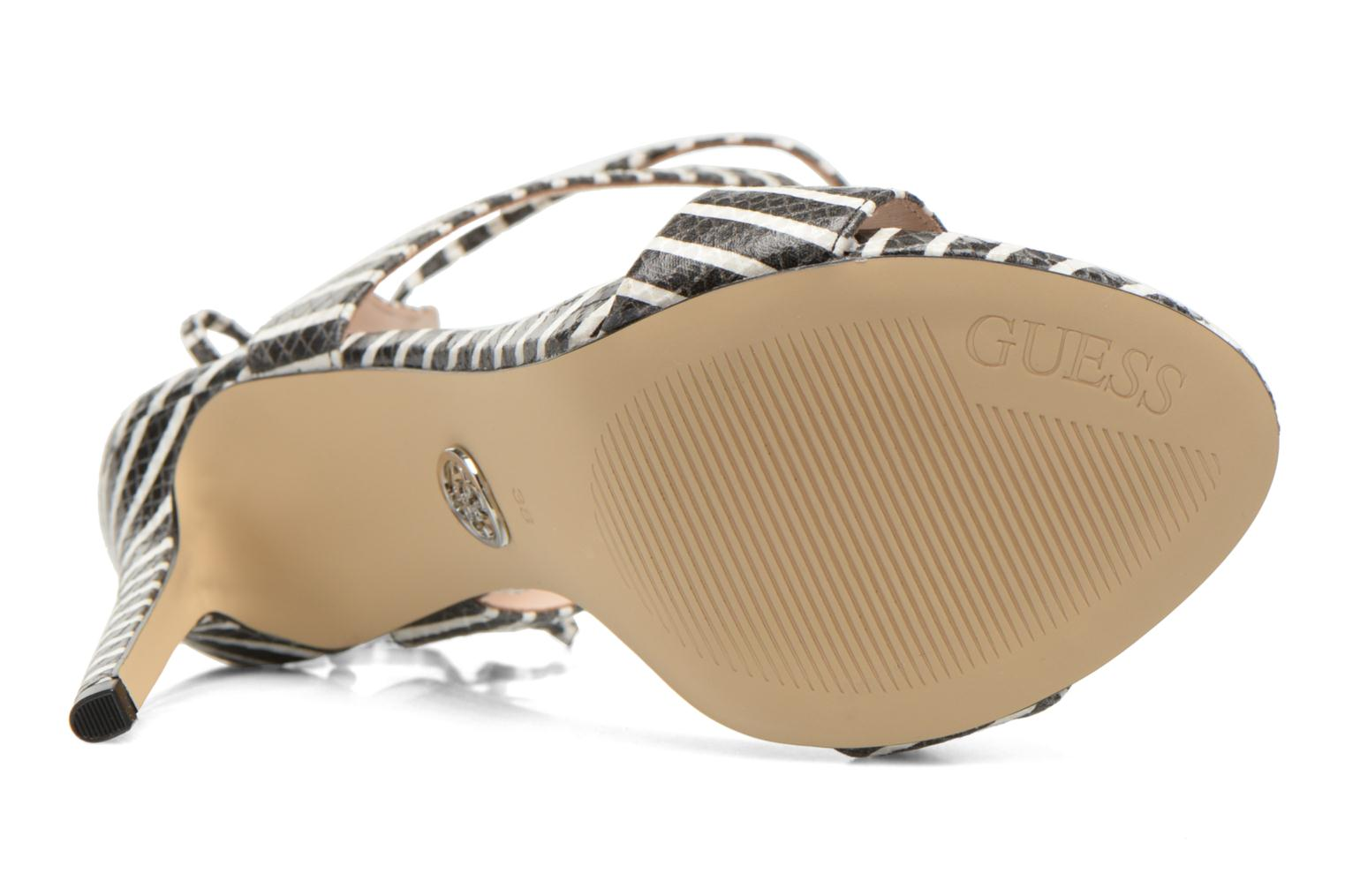 Sandals Guess Alisse Multicolor view from above