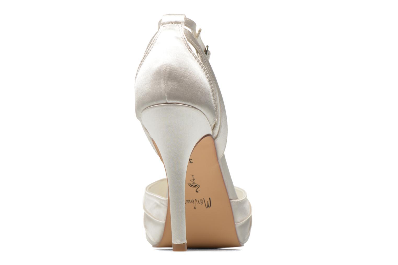 Sandales et nu-pieds Menbur Amelia Blanc vue droite