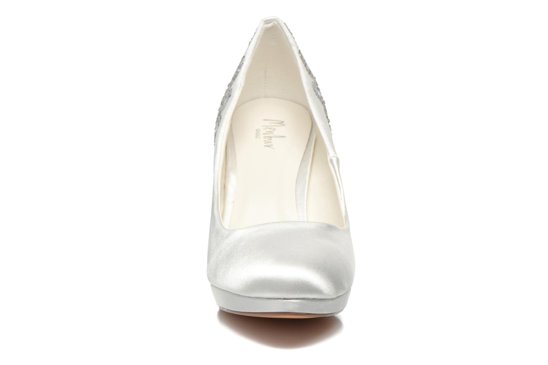 Escarpins Menbur Zulema Blanc vue portées chaussures