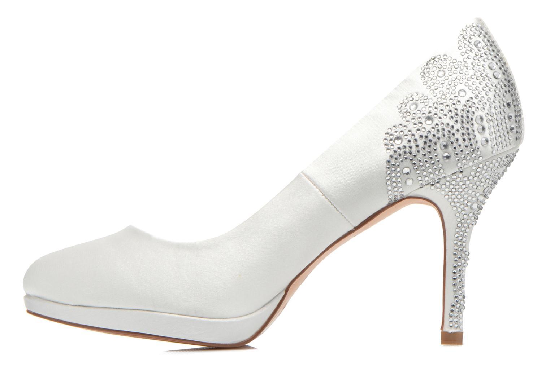 High heels Menbur Zulema White front view