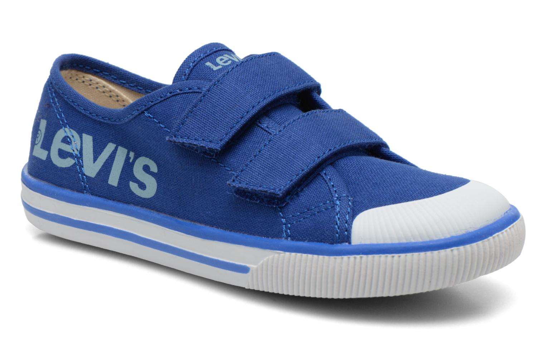 Baskets Levi's Gozilla Bleu vue détail/paire