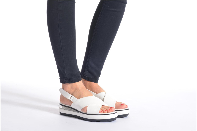Sandales et nu-pieds Sixty Seven Maolky Blanc vue bas / vue portée sac