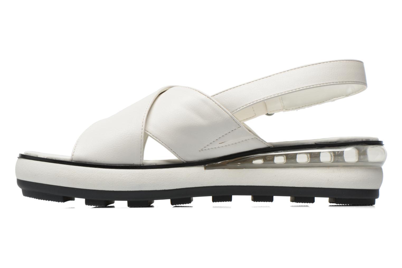 Sandales et nu-pieds Sixty Seven Maolky Blanc vue face