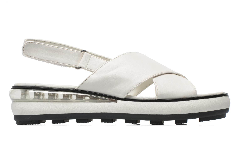 Sandales et nu-pieds Sixty Seven Maolky Blanc vue derrière
