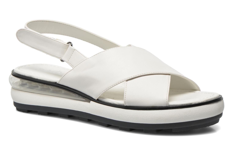 Sandales et nu-pieds Sixty Seven Maolky Blanc vue détail/paire