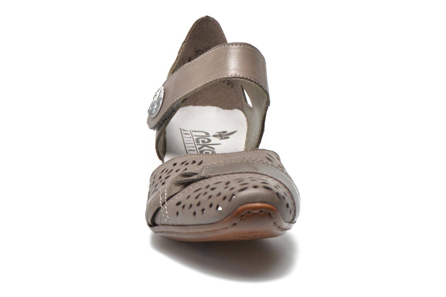 High heels Rieker Clementine 43715 Grey model view