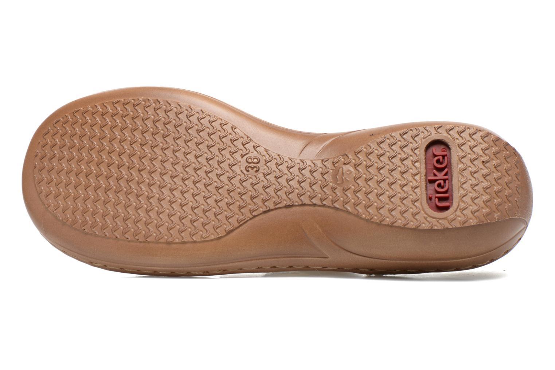 Sandales et nu-pieds Rieker Balada 608B4 Beige vue haut