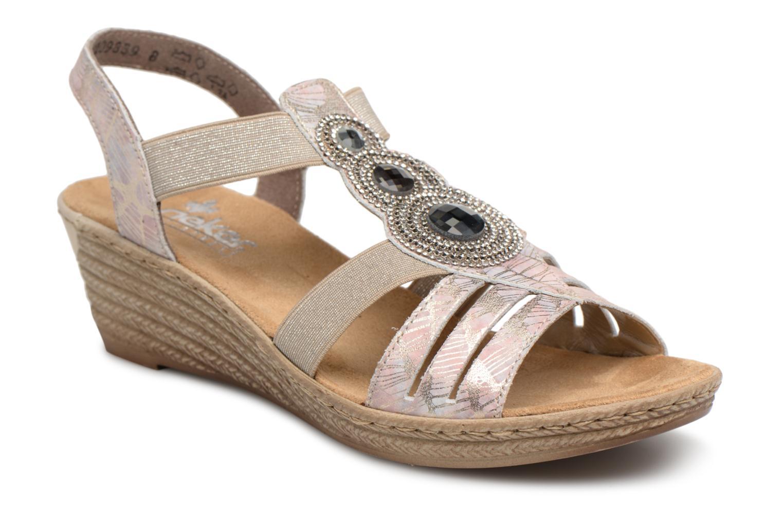 Zapatos promocionales Rieker Bijou 62459 (Rosa) - Sandalias   Descuento de la marca