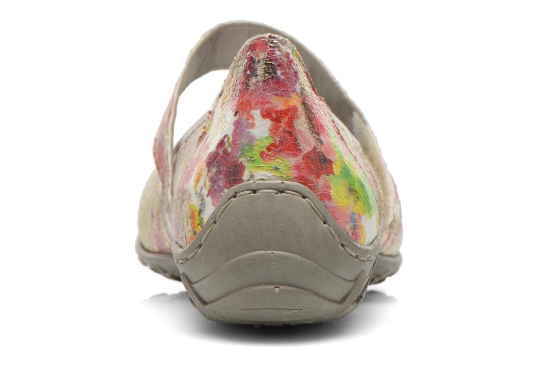 Ballerina's Rieker Topi L2062 Multicolor rechts
