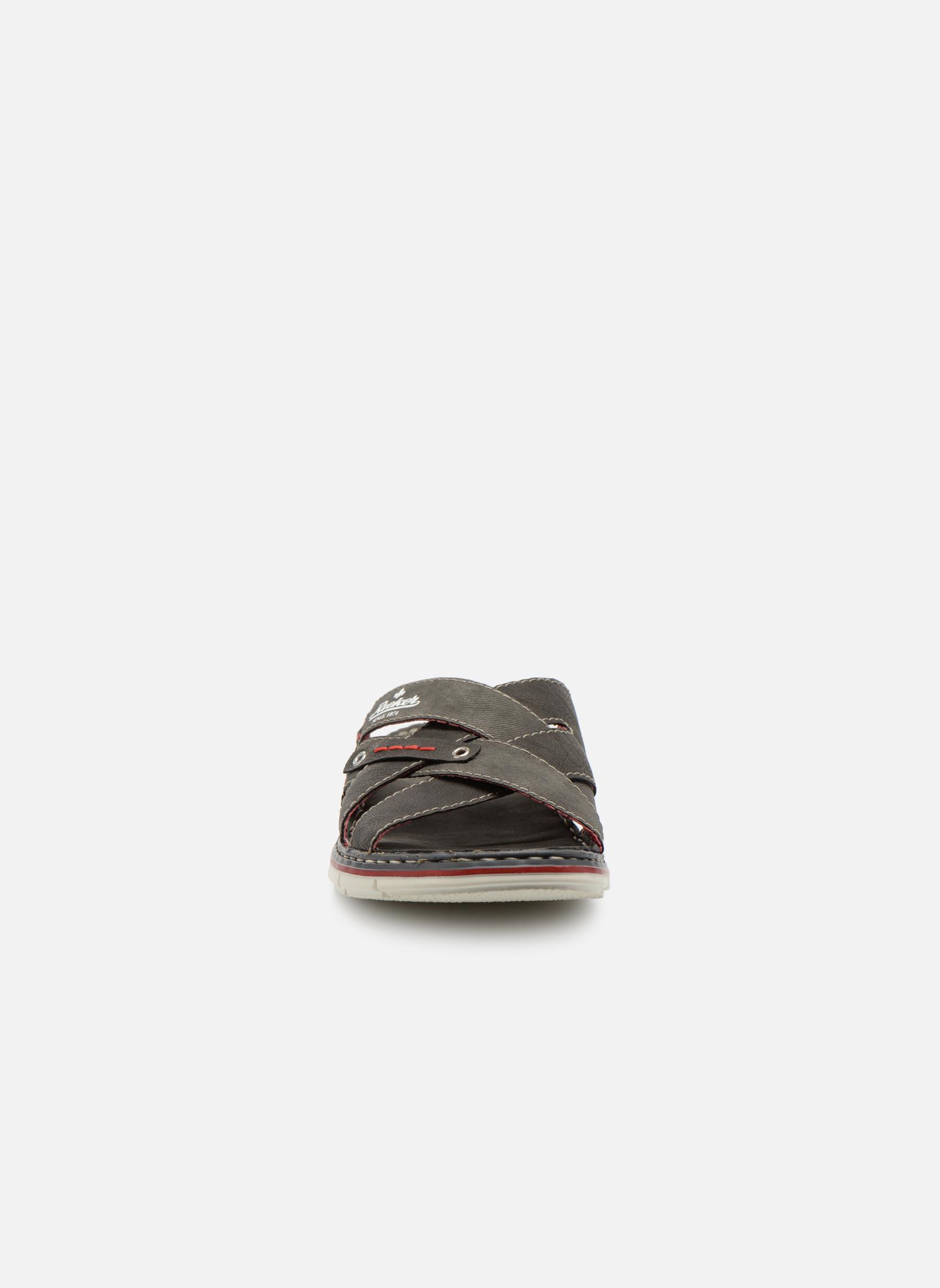 Sandales et nu-pieds Rieker Tyr 25199 Gris vue portées chaussures