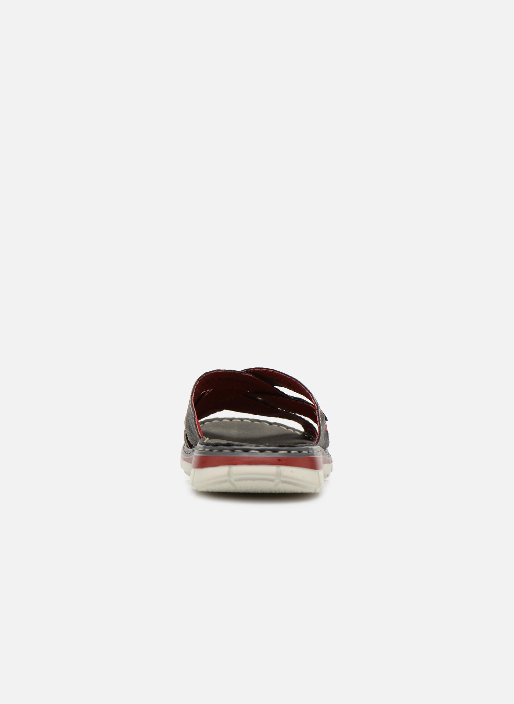 Sandales et nu-pieds Rieker Tyr 25199 Gris vue droite