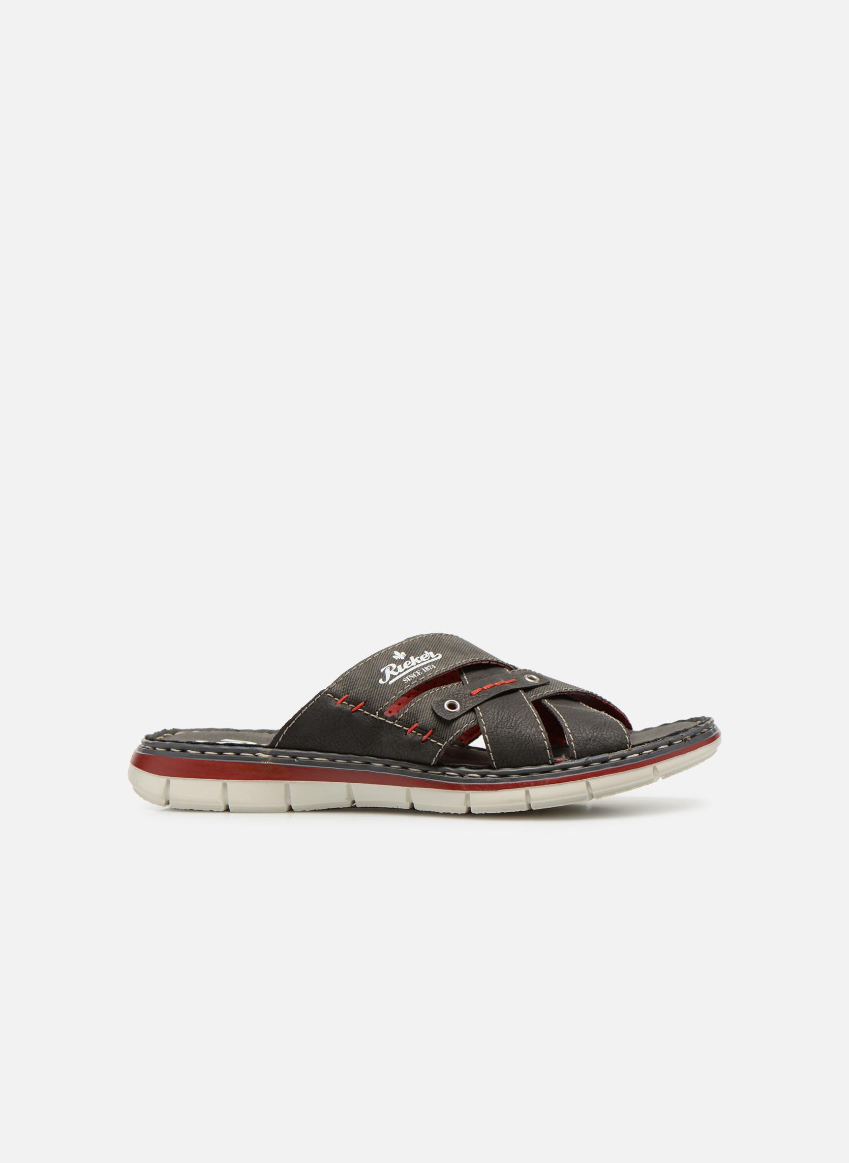 Sandales et nu-pieds Rieker Tyr 25199 Gris vue derrière