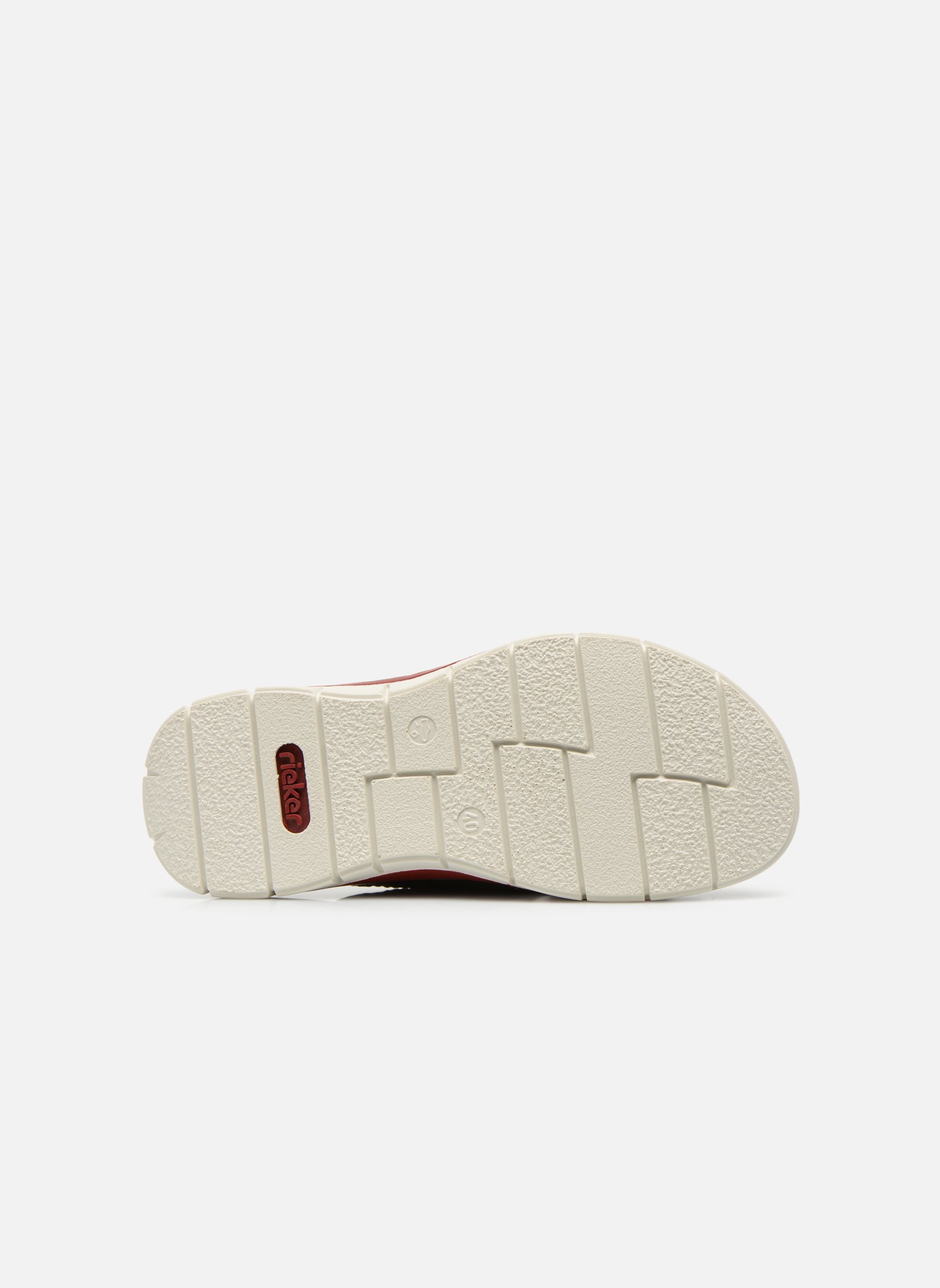 Sandals Rieker Tyr 25199 Grey view from above