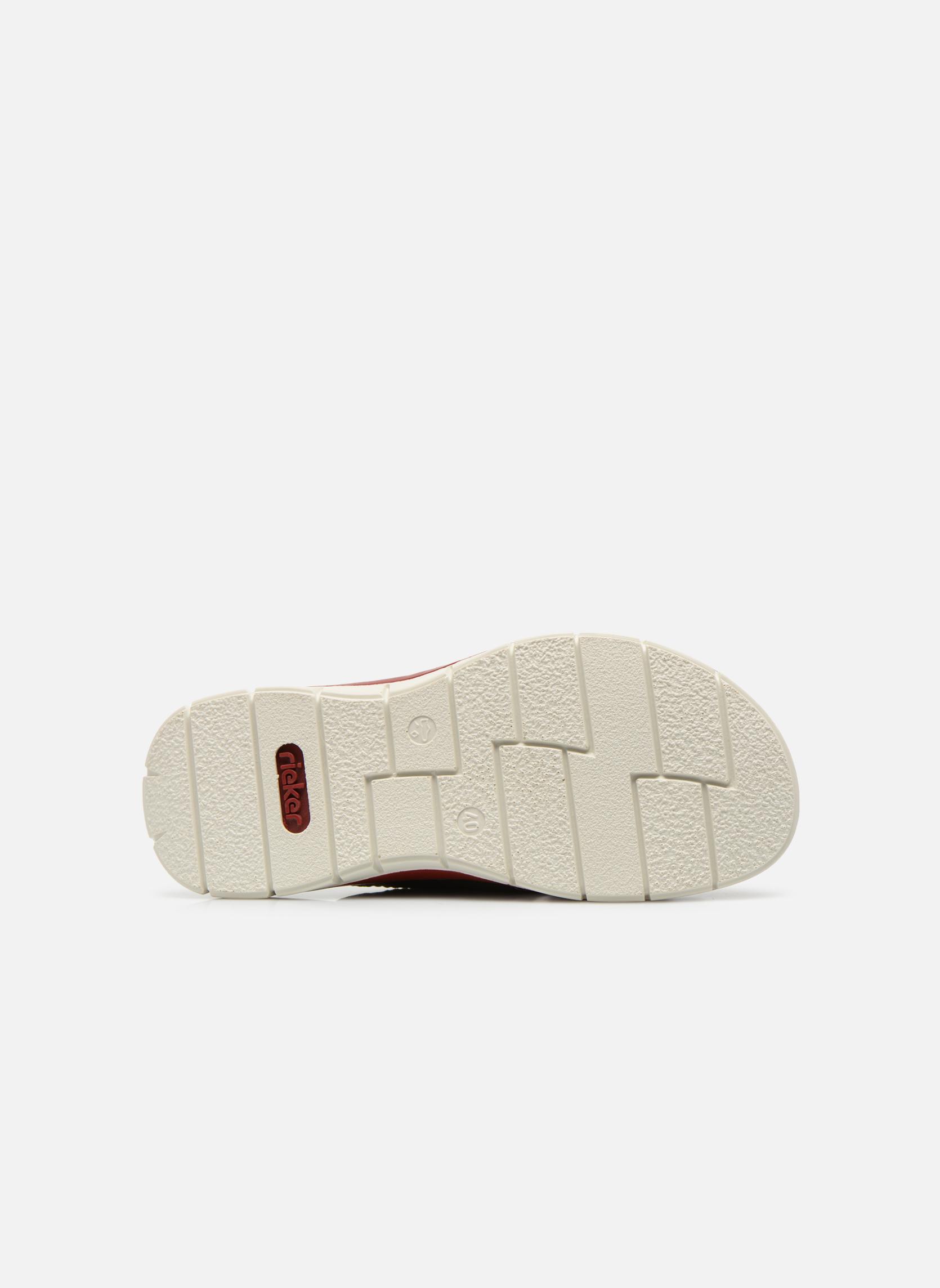 Sandales et nu-pieds Rieker Tyr 25199 Gris vue haut