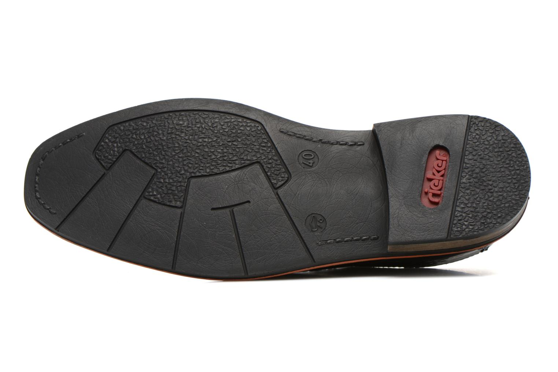 Zapatos con cordones Rieker Theo B1720 Negro vista de arriba