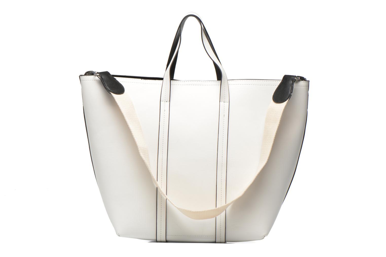 Sacs à main Pieces Tiffany Shopping bag Blanc vue face