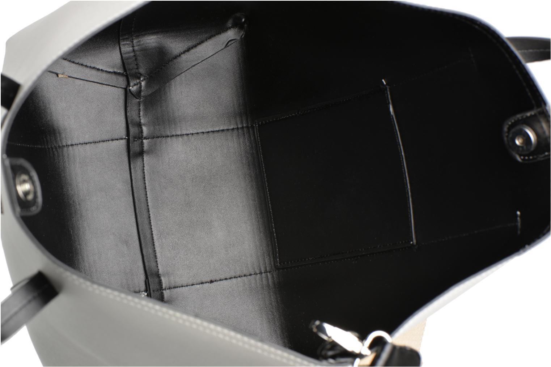 Sacs à main Pieces Tiffany Shopping bag Blanc vue derrière