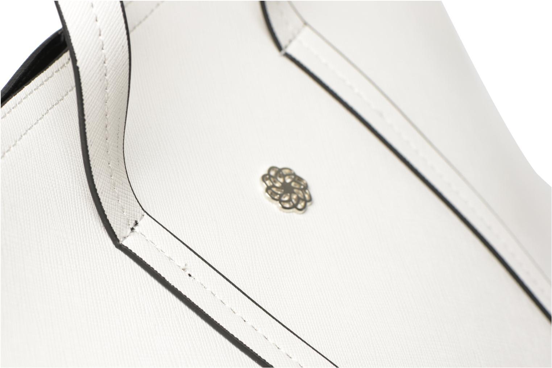 Sacs à main Pieces Tiffany Shopping bag Blanc vue gauche