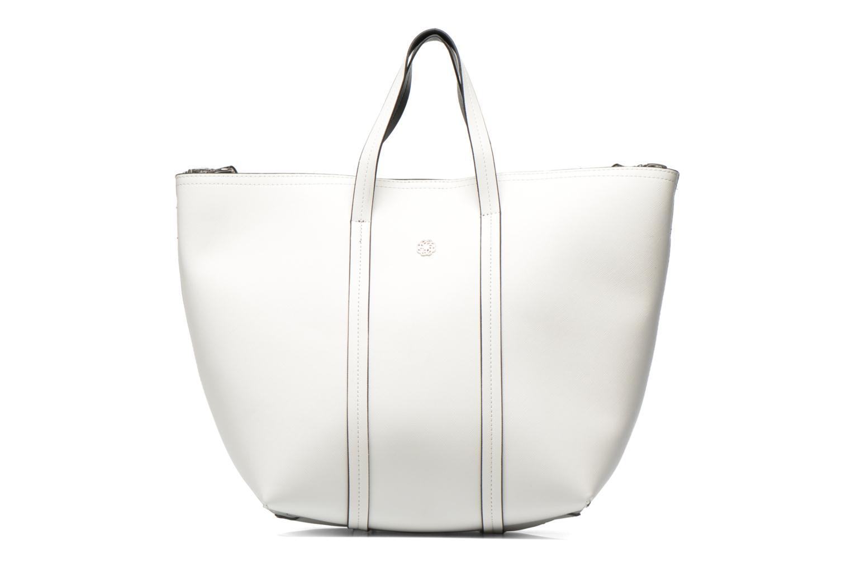 Bolsos de mano Pieces Tiffany Shopping bag Blanco vista de detalle / par