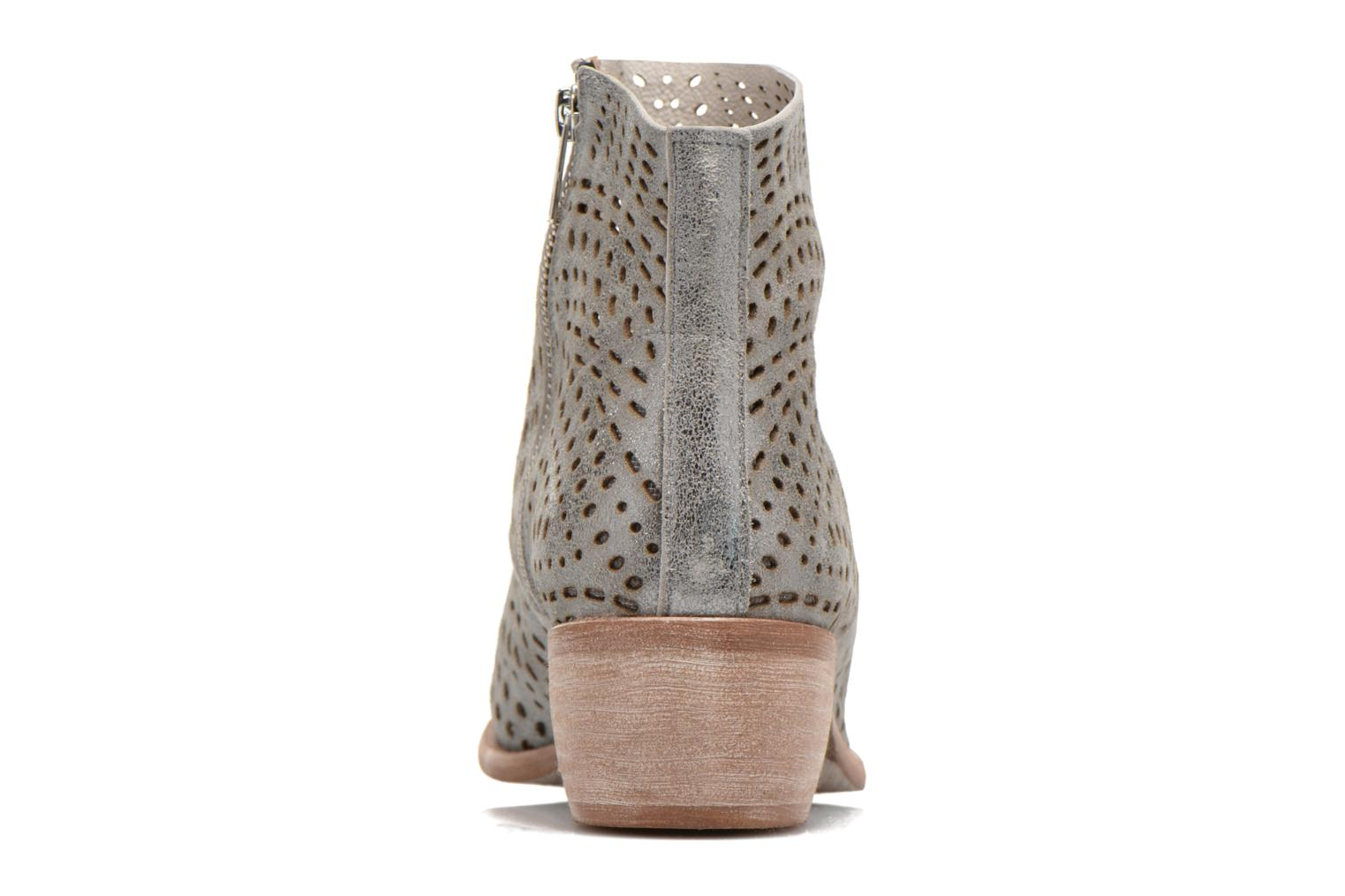 Ankle boots Karston Fun Silver view from the right