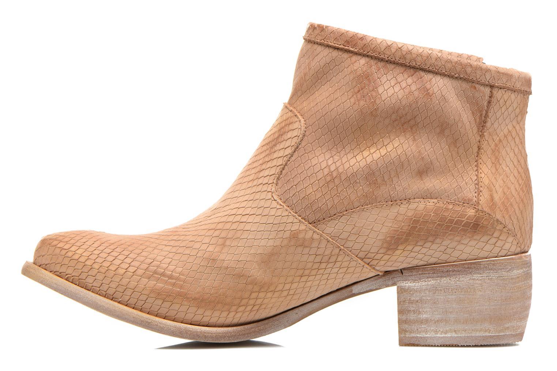 Boots en enkellaarsjes Karston Fuego Bruin voorkant