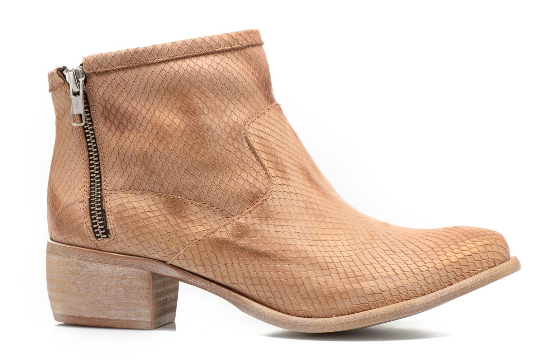 Boots en enkellaarsjes Karston Fuego Bruin achterkant