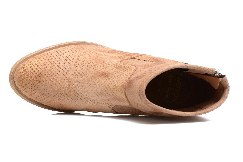 Boots en enkellaarsjes Karston Fuego Bruin links
