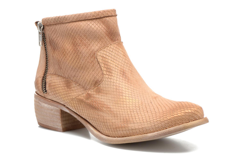 Boots en enkellaarsjes Karston Fuego Bruin detail