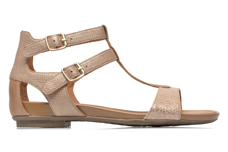 Sandales et nu-pieds Karston Kozin Or et bronze vue derrière