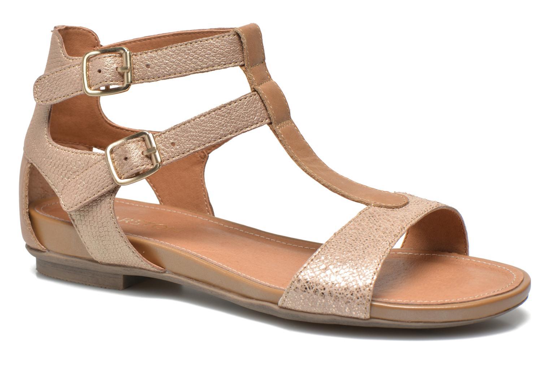 Sandales et nu-pieds Karston Kozin Or et bronze vue détail/paire