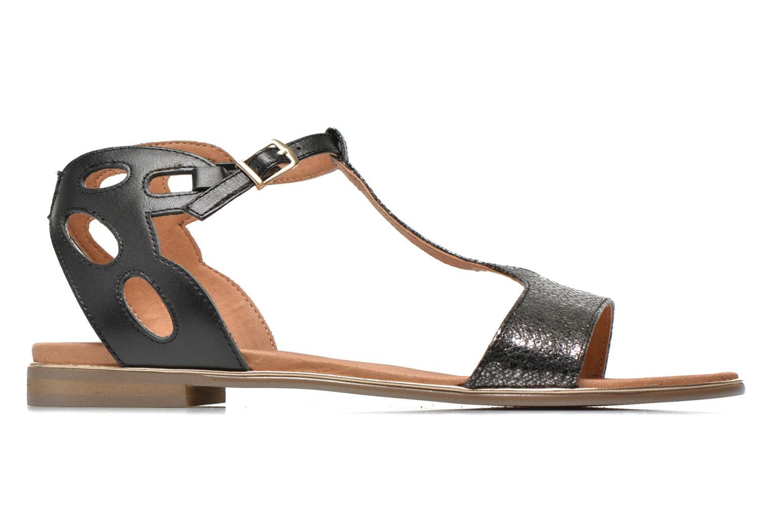 Sandals Karston Sonat Black back view