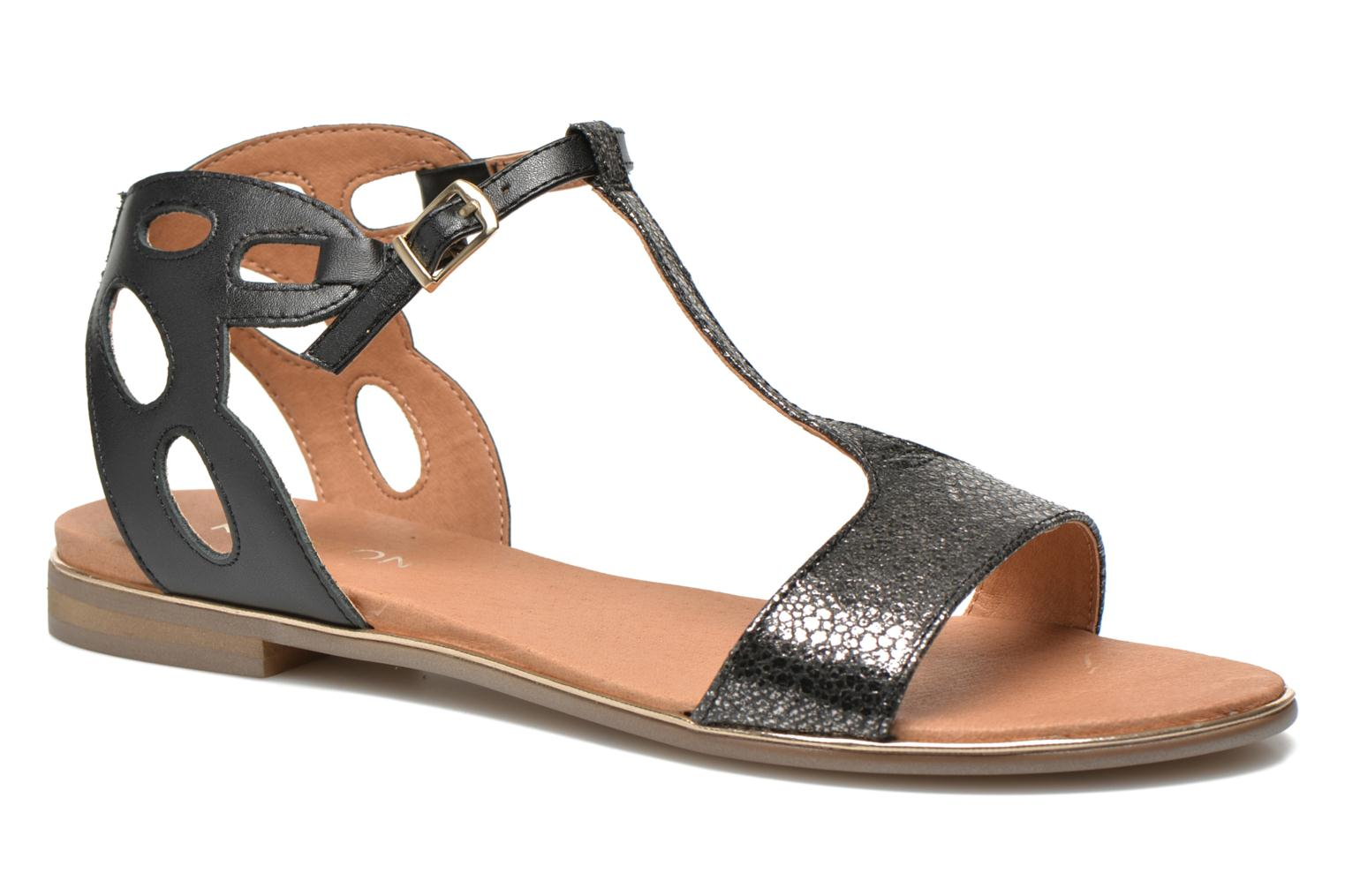 Sandals Karston Sonat Black detailed view/ Pair view