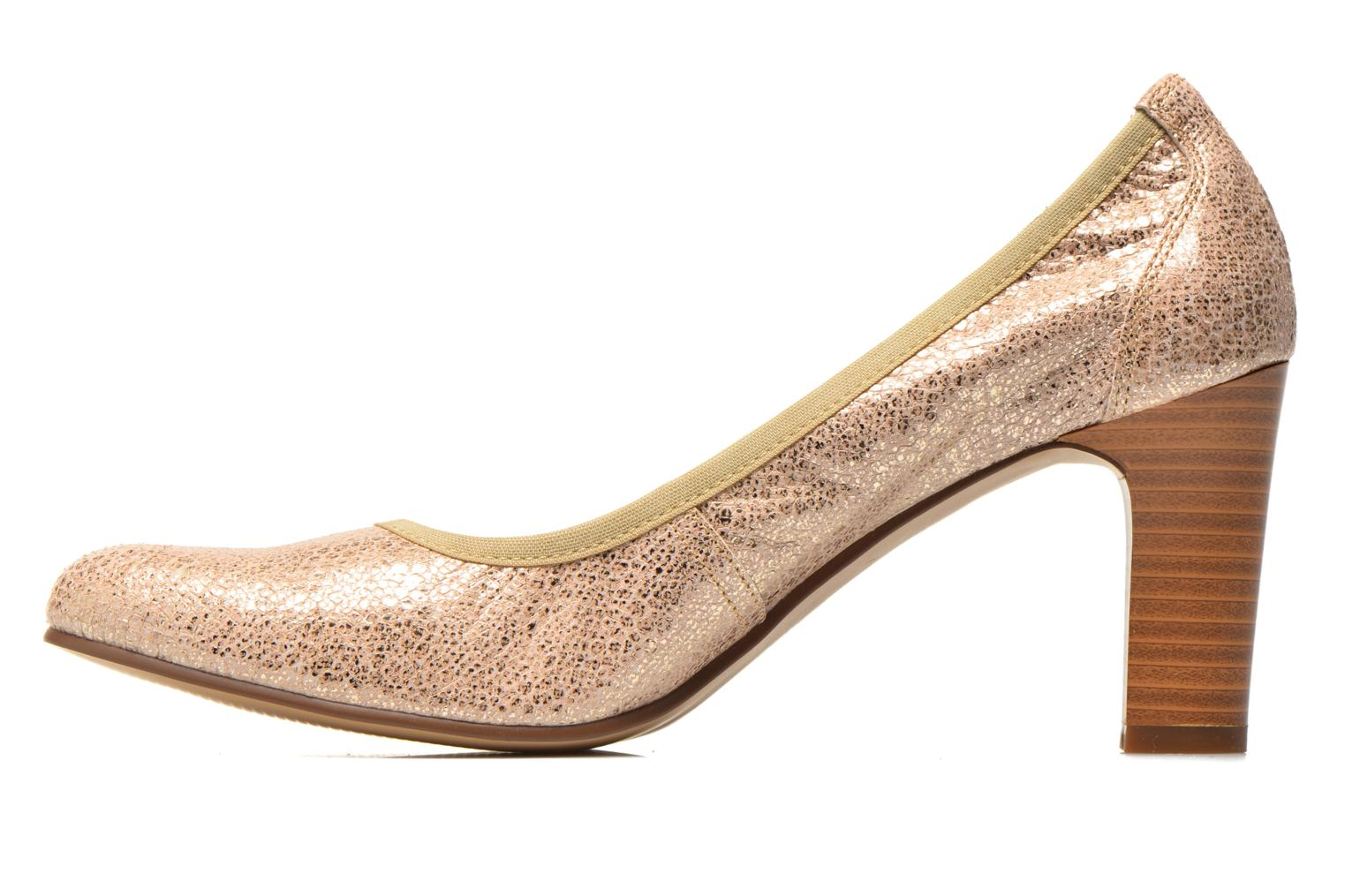 High heels Karston Aventor Bronze and Gold front view