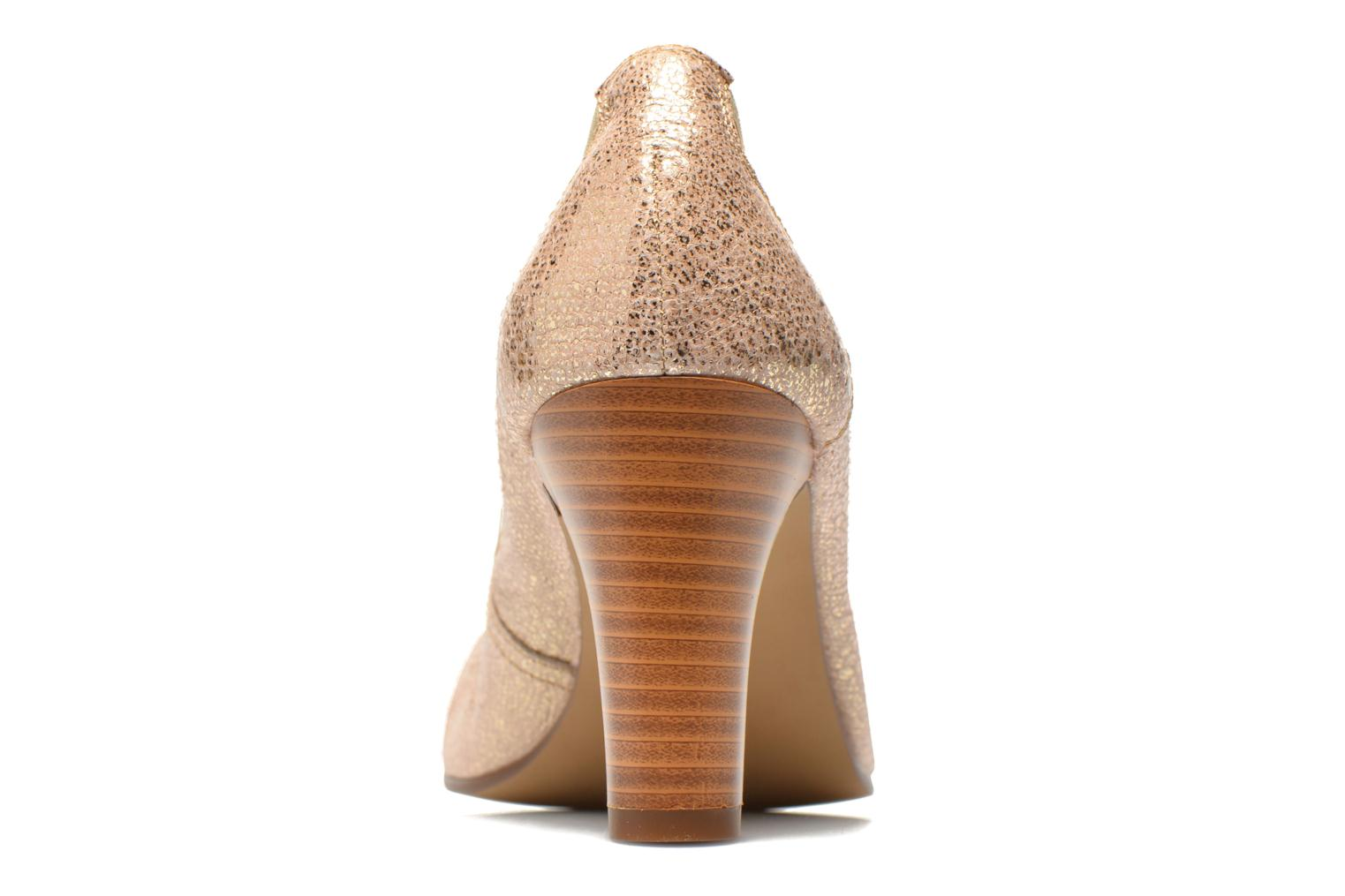 High heels Karston Aventor Bronze and Gold view from the right