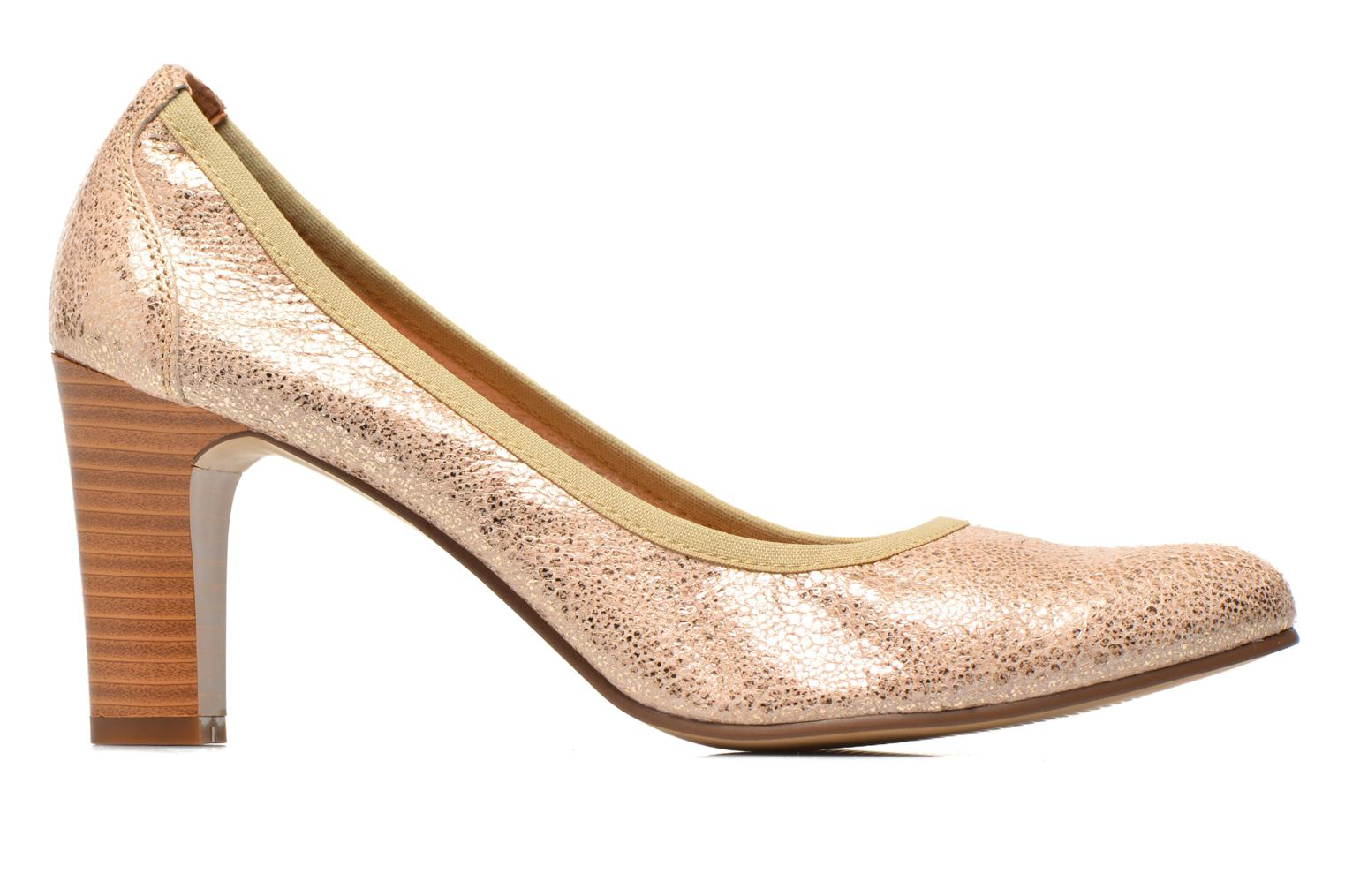 High heels Karston Aventor Bronze and Gold back view