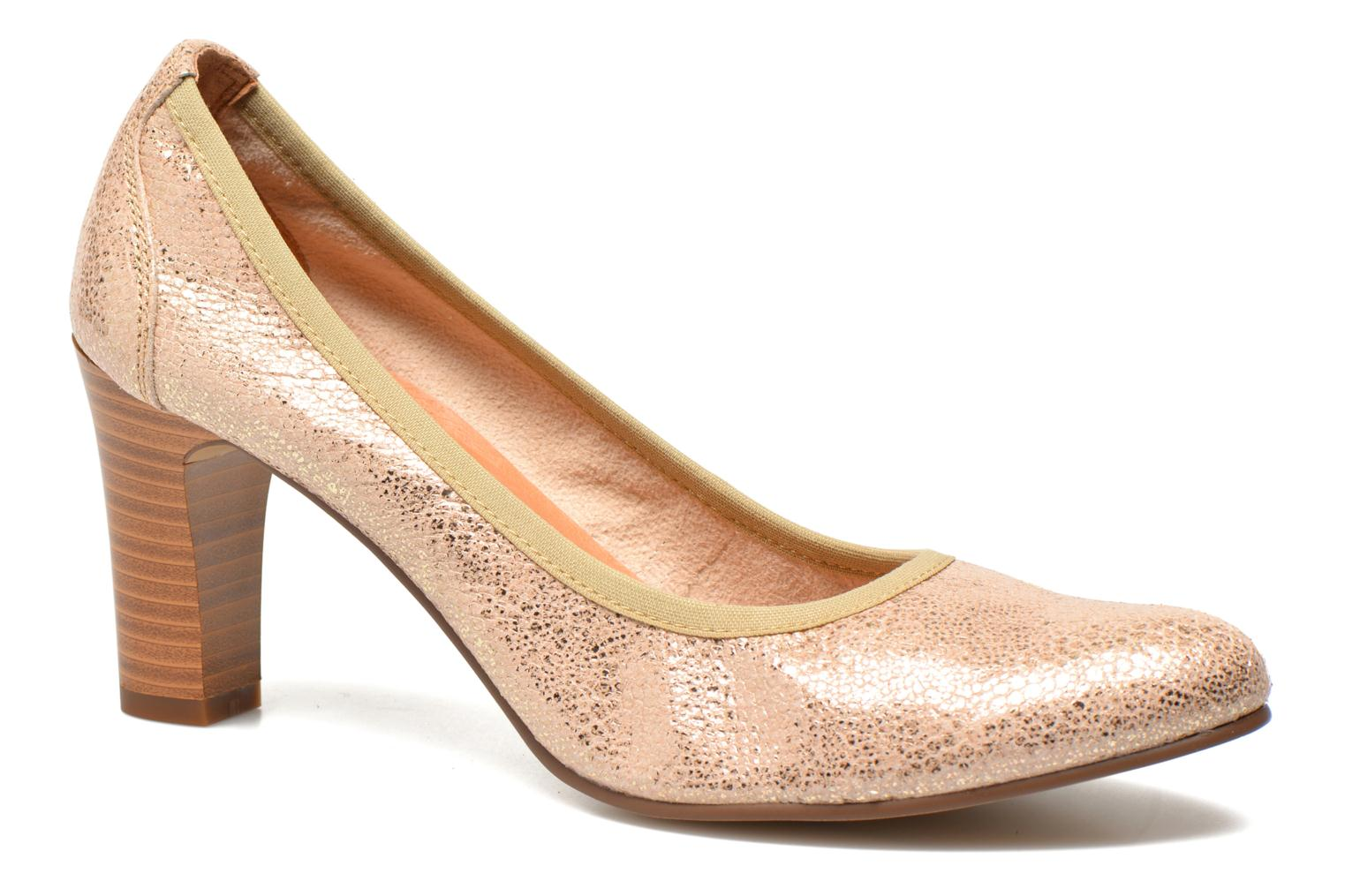 High heels Karston Aventor Bronze and Gold detailed view/ Pair view