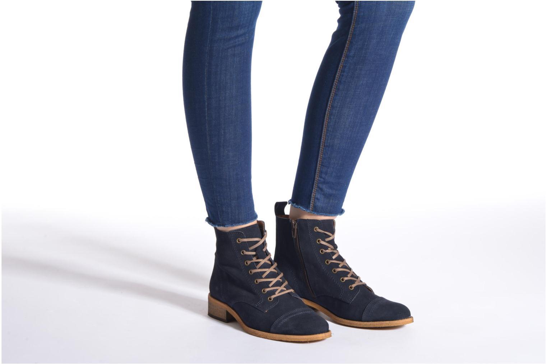 Stiefeletten & Boots Georgia Rose Casaki braun ansicht von unten / tasche getragen