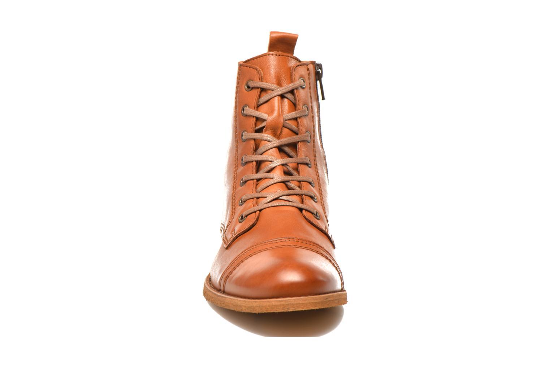 Bottines et boots Georgia Rose Casaki Marron vue portées chaussures