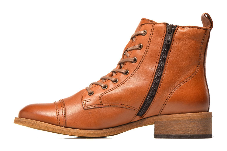 Bottines et boots Georgia Rose Casaki Marron vue face