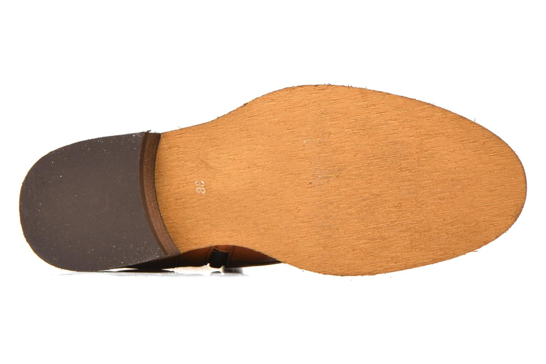 Bottines et boots Georgia Rose Casaki Marron vue haut