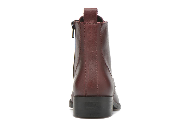 Bottines et boots Georgia Rose Casaki Bordeaux vue droite