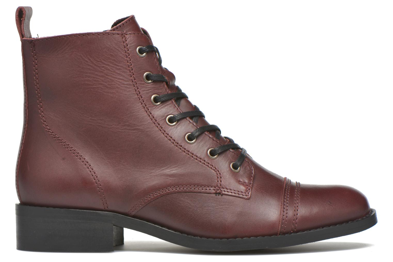Bottines et boots Georgia Rose Casaki Bordeaux vue derrière