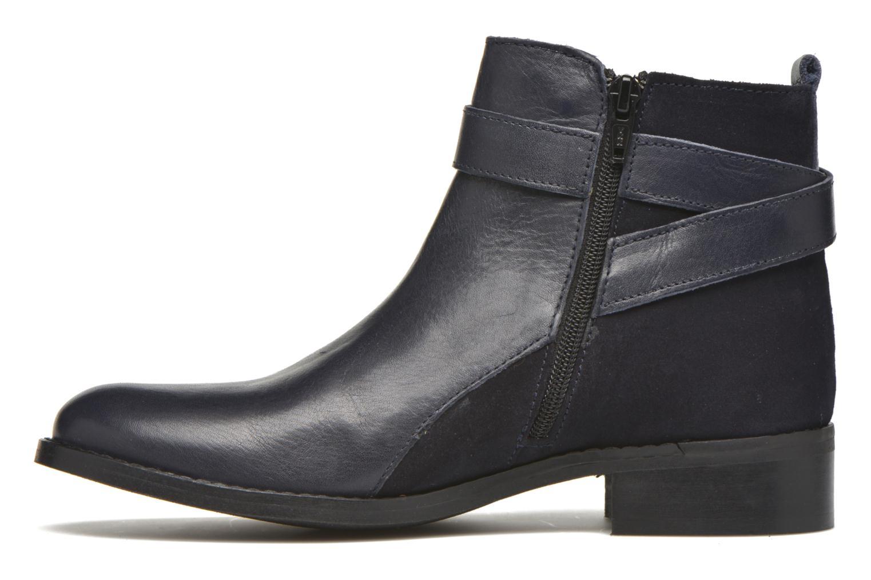 Bottines et boots Georgia Rose Colery Bleu vue face