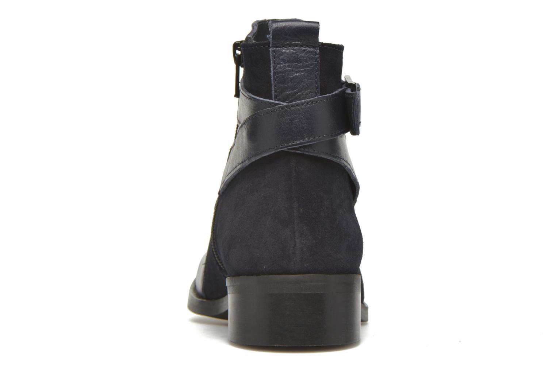 Bottines et boots Georgia Rose Colery Bleu vue droite