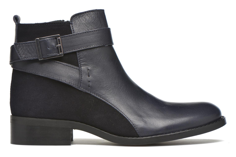 Bottines et boots Georgia Rose Colery Bleu vue derrière