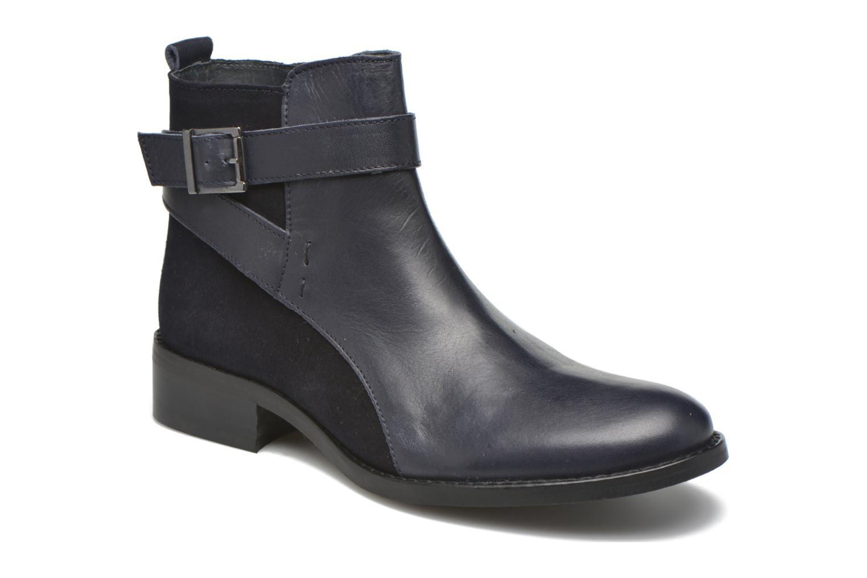 Bottines et boots Georgia Rose Colery Bleu vue détail/paire