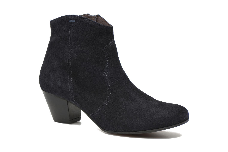 Ankelstøvler Georgia Rose Ceceki Blå detaljeret billede af skoene