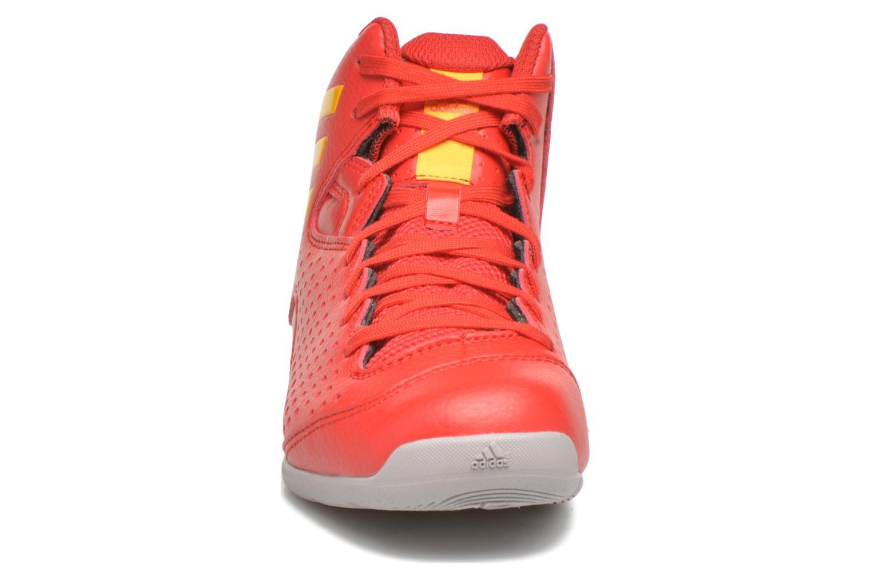 Chaussures de sport Adidas Performance NXT LVL SPD IV NBA K Rouge vue portées chaussures