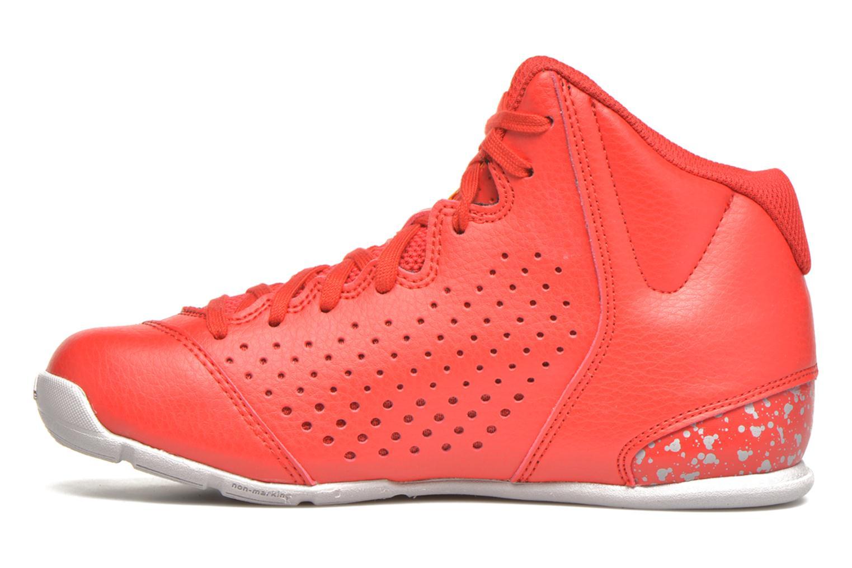 Chaussures de sport Adidas Performance NXT LVL SPD IV NBA K Rouge vue face